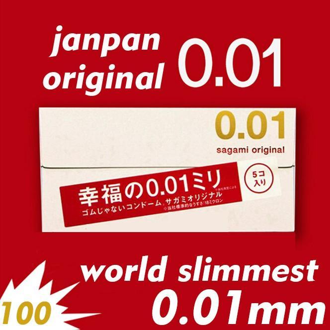 Bao Cao Su Mỏng Nhất Thế Giới Sagami Original 0.01 - Bao cao su cần thơ
